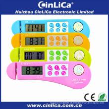Grande som original timer magnético colorido, temporizador de faca, temporizador de contagem regressiva