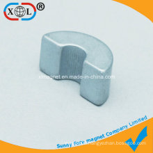 U-Shape Small Customized Magnet in Industry