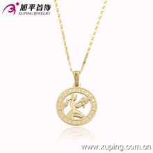 Fashion 14k Gold Delicate Pendant Plated with a Wowan