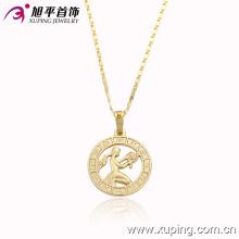 Moda 14k ouro pingente delicado chapeado com um wowan