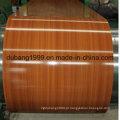 PPGI com design de madeira com alta qualidade em espessura 0.18 ~ 0.8mm