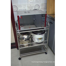 Microwave Oven Shelf Kitchen Storage Rack