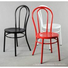 Réplique rétro populaire classique réplique Chaises de restaurant à bas prix Steel Steel Steel