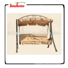 Durable patio garden Swing Chair bed deluxe Steel swing