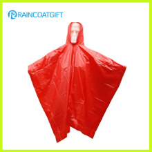 Capa de chuva de PVC com capuz adulto Rvc-183