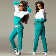Wholesale Women Gym Casual Sport Wear / Track Suit