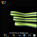fita reflexiva colorida do hivisibility para a roupa da segurança
