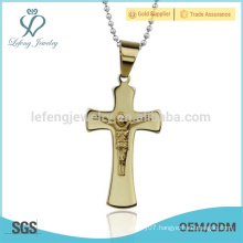 Dubai gold jewelry pendant, mens cheap gold cross pendants