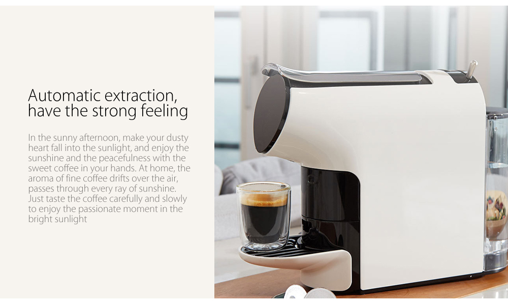 Scishare Capsule Coffee Machine