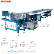 Alimentação de papel semi-automática de JSJ-650B e colando a máquina