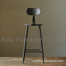 French Antique Industrial Vintage Bar Stool