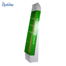 Supermarkets hot Customized Hook Cardboard Display Rack,Cardboard Display Rack Hook