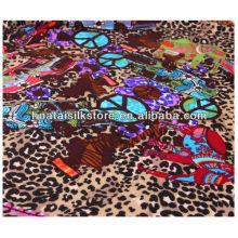 Impressão de tela de seda para 2014 lenço novo mulheres moda moda