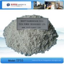 Revestimiento en polvo químico epoxi poliéster híbrido Matt Hardener Tp55
