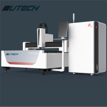 Corte do metal da máquina de corte do laser da fibra do aço de 5mm
