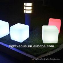 водить куб таблицы & светящийся куб таблицы мебели