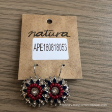 Fashion Jewelry Big Flower Earrings