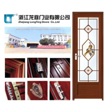 Aluminum Alloy Glass Design Bathroom Door