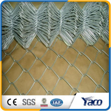 Hengshui 60*60 mm 75*75mm 50*50mm galvanized chain link mesh fence factory