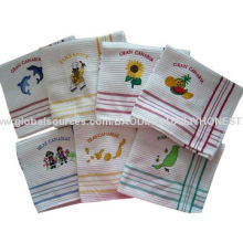 Waffle Kitchen Towels, Measures 40 x 60/50 x 70cm, Yarn-dyed Weaving Design, Used as GiftNew