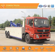 DONGFENG 6X4 wrecker and recovery truck