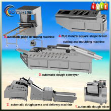 Intelligent pasta equipment square bread making line