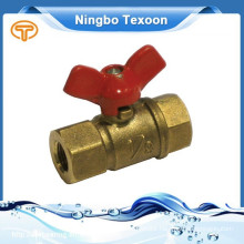 191-TM(Wing handle) Brass Mini Ball Valve Lead free