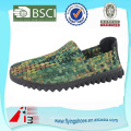 china factory man women woven weave shoes , elastic belt hand knit shoes , handmade woven elastic shoes
