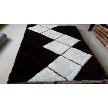 100% Polyester Shaggy Teppich / Teppich Fabrik