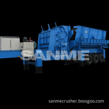 pp series portable crushing machine