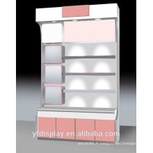 Cabinet d'affichage cosmétique en bois populaire de qualité supérieure