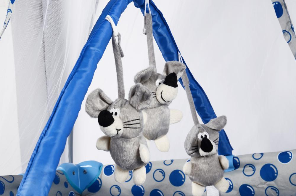 Baby Playpen with Toys