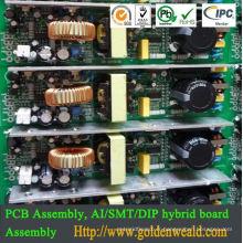 Assemblée de pcb de moteur de lecteur mp3 de pcba OEM / ODM Assemblée électronique de composants de pcba smt, Assemblée de PCBA
