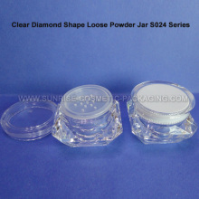 20g Diamond Shape Powder Sifter Case