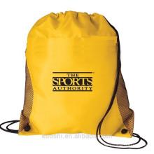 bolsa de cordón de nylon impermeable personalizado