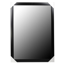 Black White Silver Flat 30x120cm PS Mirror Frame