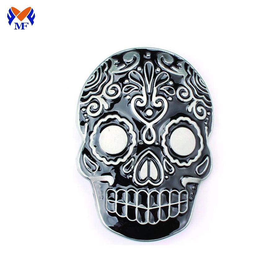 Metal Skull Buckle