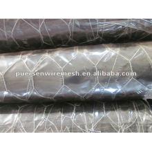 Tecelagem Rede de arame hexagonal Revestimento galvanizado e pvc