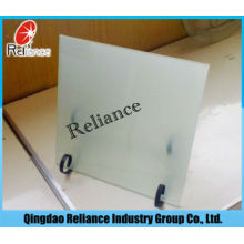 Clear Float & Ultra Clear Float Acid Etched Glass / Frost Glass
