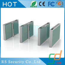 OEM Depot Access Control Glass Turnstile Door Use