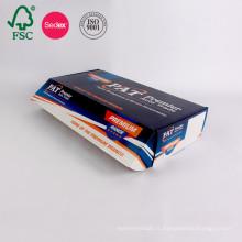 Emballage ondulé de carton de carton de boîte de papier d'impression de couleur faite sur commande