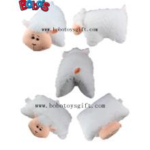 Almofadas Almofadas ao ar livre Almofada como ovelhas brancas Plush Estilo animal