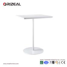 Mesita de centro blanca simple barata de Orizeal (OZ-OTB001)