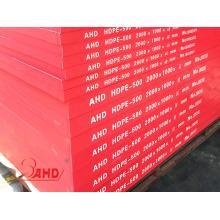 Food Grade High Density Polyethylene(HDPE) Sheet Red/White