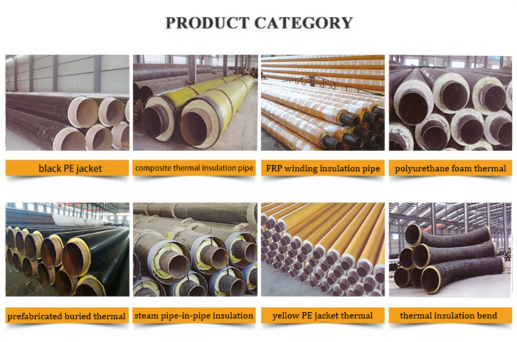 Thermal insulation steel pipe