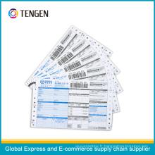 Impression personnalisée Express Logistic Courier Waybill