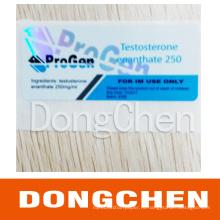 Изготовленное на заказ печатание упаковывать медицины этикетка пробирки 10ml для стероидов