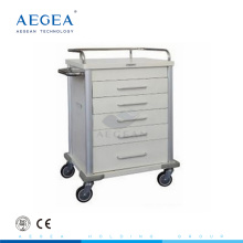 AG-MT028 Five drawers movable patient ward room drugs and medicine distribution cart price
