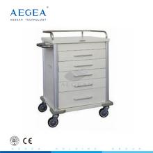 АГ-MT028 пять ящиков подвижные палате номер лекарства пациент и медицина распределение тележки цена
