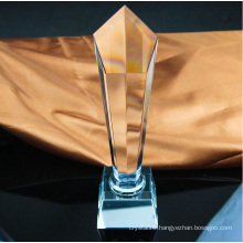 Wholesale Custom Five Column Crystal Trophy Free Engraving